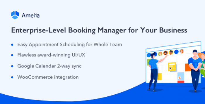 Amelia v1.3.4 – Enterprise-Level Appointment Booking