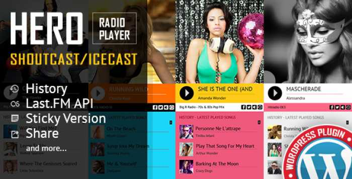 Hero v1.6.9.0 - Shoutcast and Icecast Radio Player