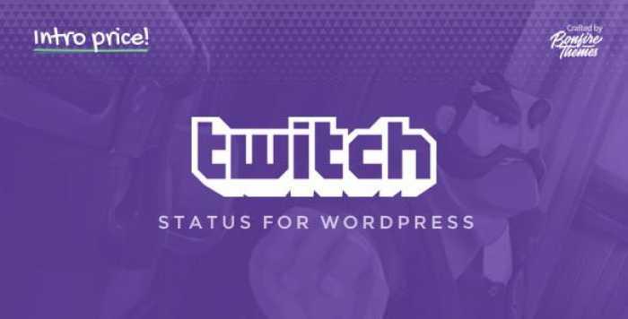 Twitch Status for WordPress v1.2