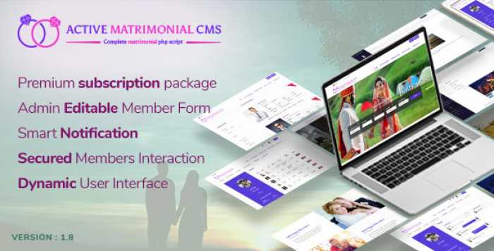 Active Matrimonial CMS v1.8 - nulled