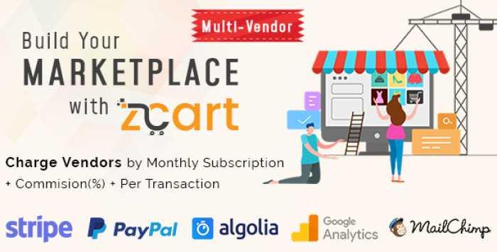 zCart v1.1.2 - Multi-Vendor eCommerce Marketplace