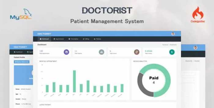 Doctorist v1.0 – Patient Management System
