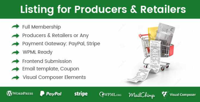 Directory Listing for Producers & Retailers v1.0.8