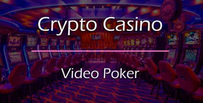 Video Poker Add-on for Crypto Casino