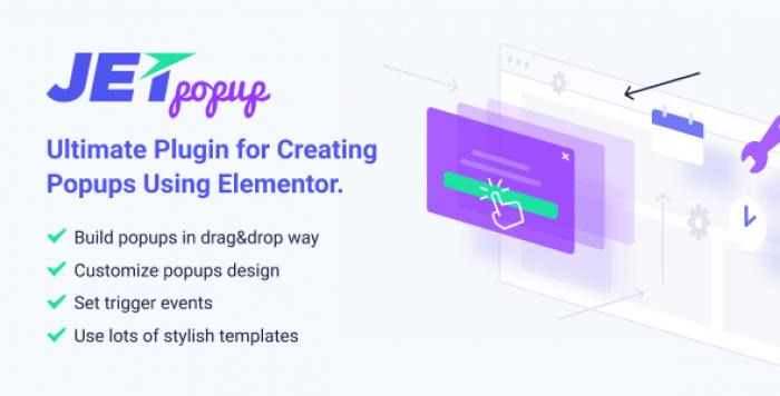 JetPopup v1.2.6.1 – Popup Addon for Elementor