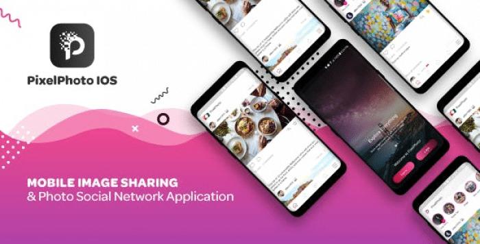 PixelPhoto IOS v1.0.2 - Mobile Image Sharing & Photo Social Network