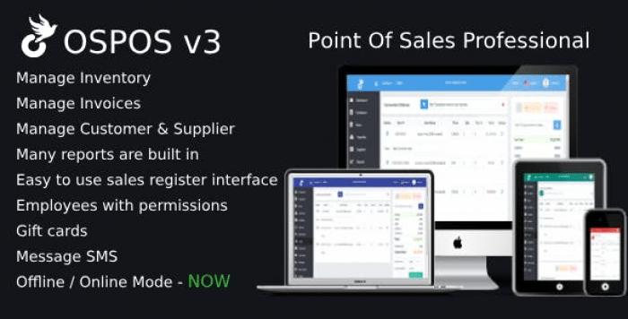 OSPOS Professional (online & offline) v3.2.3
