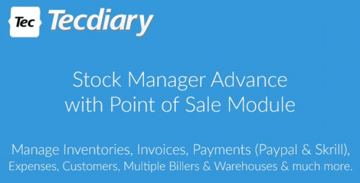 Stock Manager Advance with Point of Sale Module v3.4.17 - nulled
